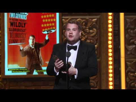 Acceptance Speech: James Corden 2012