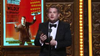 Acceptance Speech: James Corden (2012)