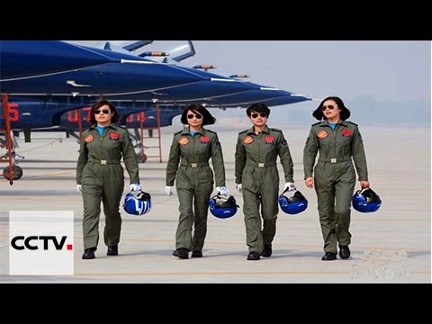 China's female fighter