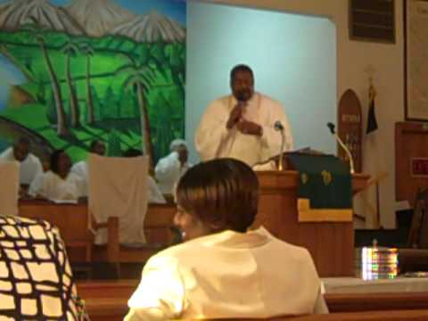 Pastor Charles Howard touching sermon.MP4