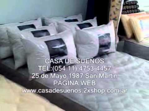 Venta de colchones sommiers almohadas en san martin casa de sue os youtube - Casa de colchones ...