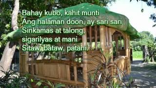 Bahay Kubo lyrics