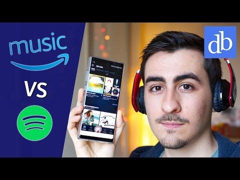 AMAZON MUSIC UNLIMITED è meglio di SPOTIFY? Panoramica e confronto! • Ridble