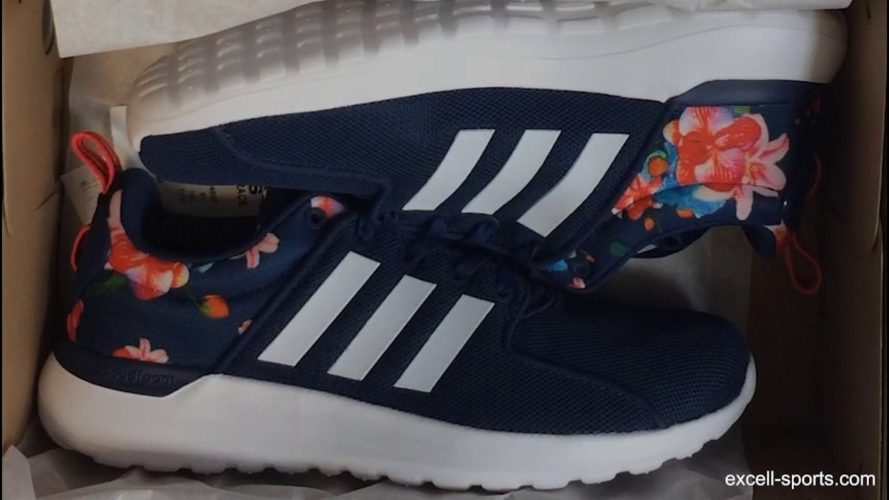 5aba8394d adidas Womens Cloudfoam Lite Racer Shoes Unboxing - YouTube