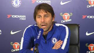 Conte: Chelsea will be ready for Barcelona test