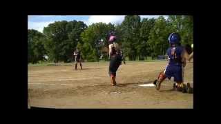 caitlin 12u fastpitch softball tournament june 2 2012 storm