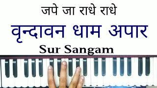vrindavan dham I Vrindavan dham apar jape ja Radhey Radhey I Harmonium I Piano I Keybpoard I Bhajan