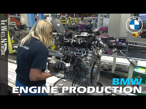 BMW Engine Production in Germany and Austria