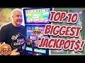 TOP 10 BIGGEST JACKPOTS OF MY LIFE! 💥October 2019 ...