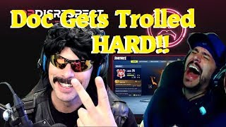 Dr Disrespect Gets Trolled by CDNthe3rd, Talks about the death of Fortnite