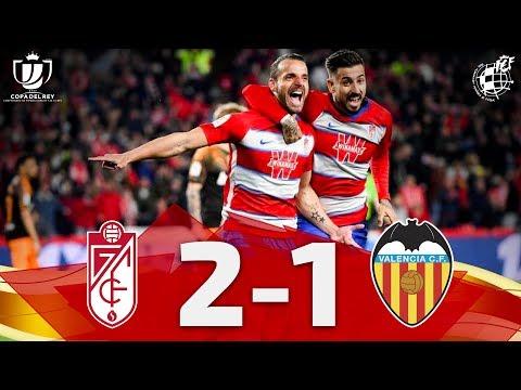 Resumen | Copa del Rey | Granada CF 2-1 Valencia CF