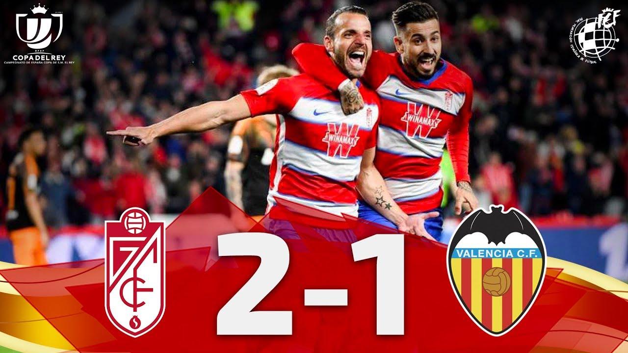 Download Resumen | Copa del Rey | Granada CF 2-1 Valencia CF