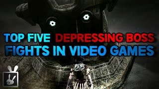 Top Five Depressing Boss Fights in Video Games