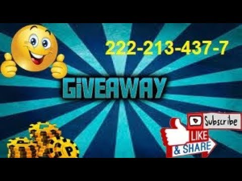 😊Free coin giveaway🎱 let's start👍222-213-437-7