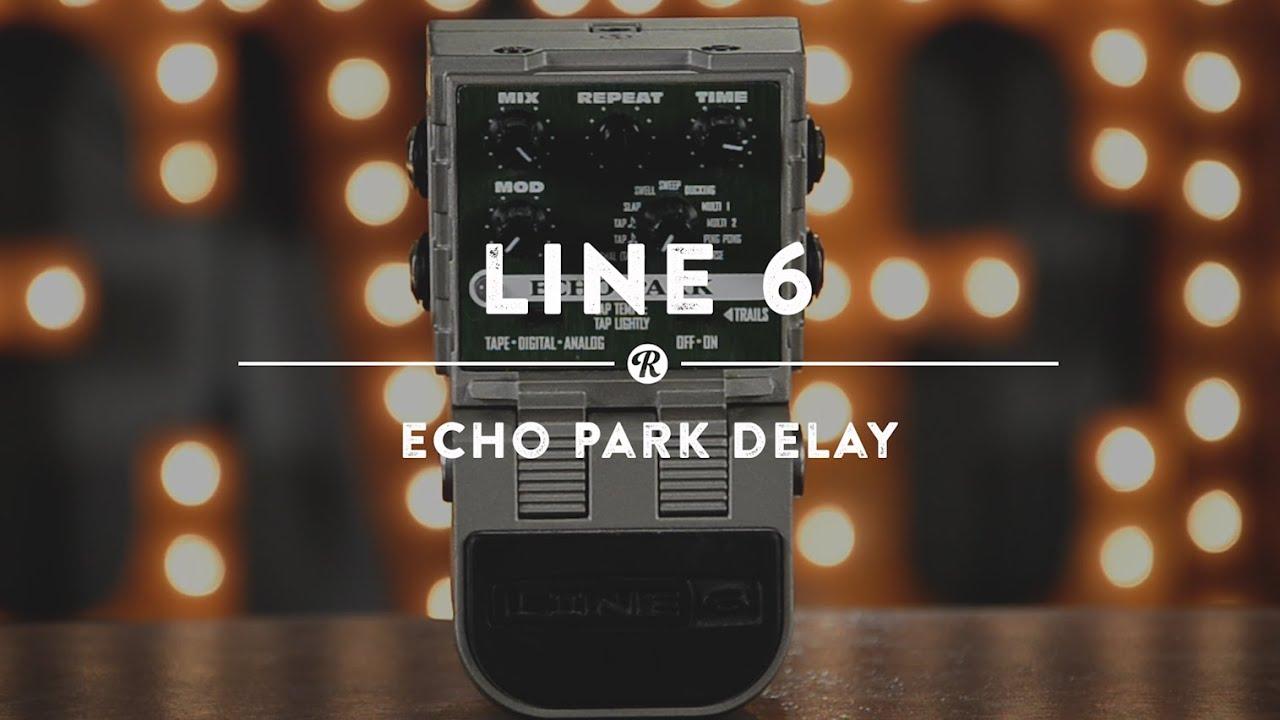 line 6 echo park delay reverb demo video youtube. Black Bedroom Furniture Sets. Home Design Ideas