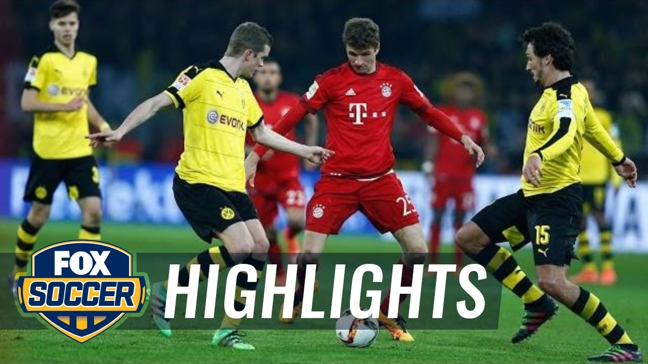 bayer munich vs borussia dortmund