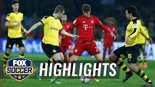 Borussia Dortmund vs. Bayern Munich | 2015–16 Bundesliga Highlights