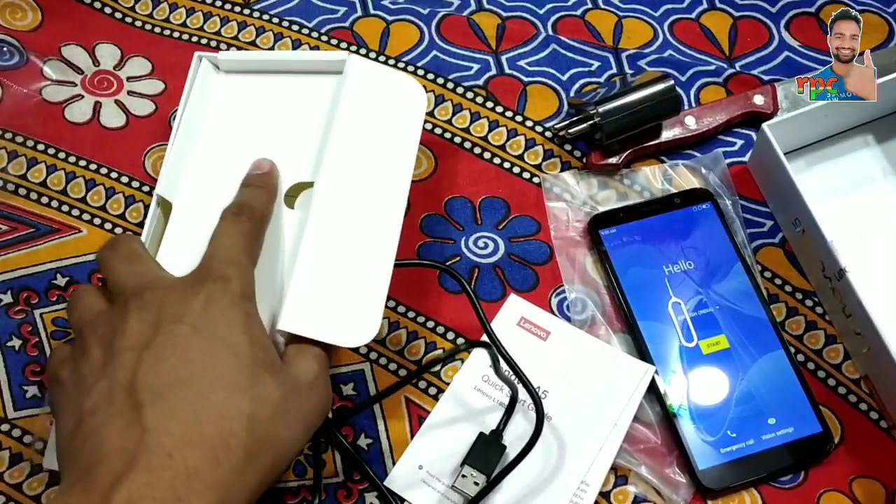 Lenovo A5 Black Gold Unboxing, Review,camera, battery,test||Latest Tech Videos||Tech RPC