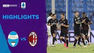 Spal 2-2 Ac Milan | Serie A 19/20 Match Highlights