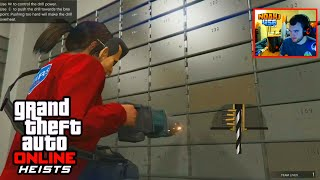 GTA 5 Heists - FIRST HEIST COMPLETE GAMEPLAY! (GTA 5 Fleeca Bank Heist Walkthrough)
