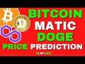 MATIC Price Prediction | DOGECOIN Price Prediction | BITCOIN Price Prediction | Crypto News Today