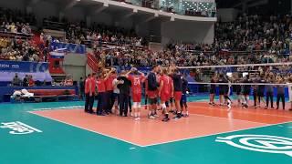 Мужская сборная России по волейболу квалифицировалась на Олимпиаду-2020