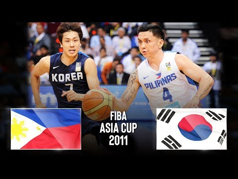 Philippines 🇵🇭 v Korea 🇰🇷 - Classic Full Games | FIBA Asia Cup 2011