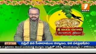 Sri Vijaya Nama Samvatsara Ugadi Raashi Phalalu 2014 by Sri Vavilala Subramanya Sastry