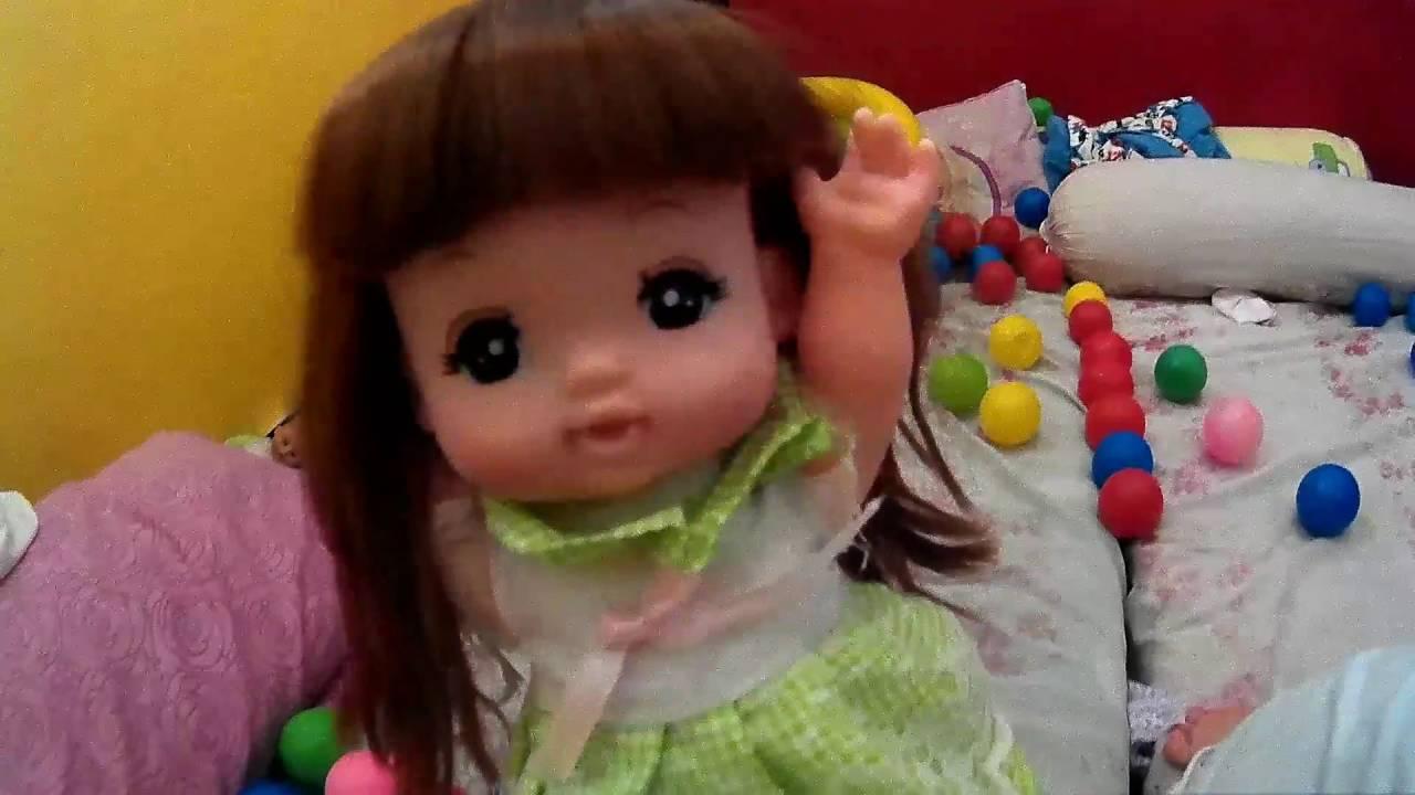 MAINAN ANAK LUCU Mainan Anak Boneka Bayi Mell Chan Kids