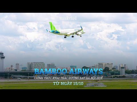 Bamboo Airways chính thức khai thác đường bay Hanoi – Huế từ ngày 15/10/2019