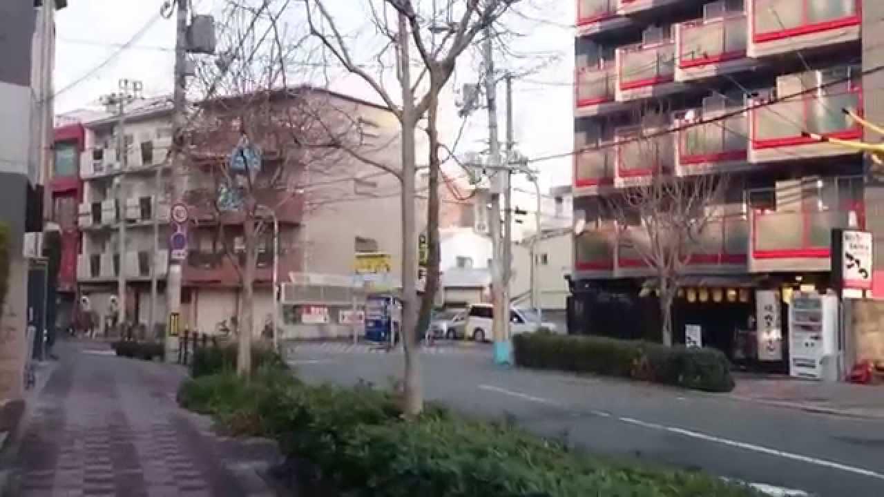 東淀川站至大阪中野屋 - YouTube