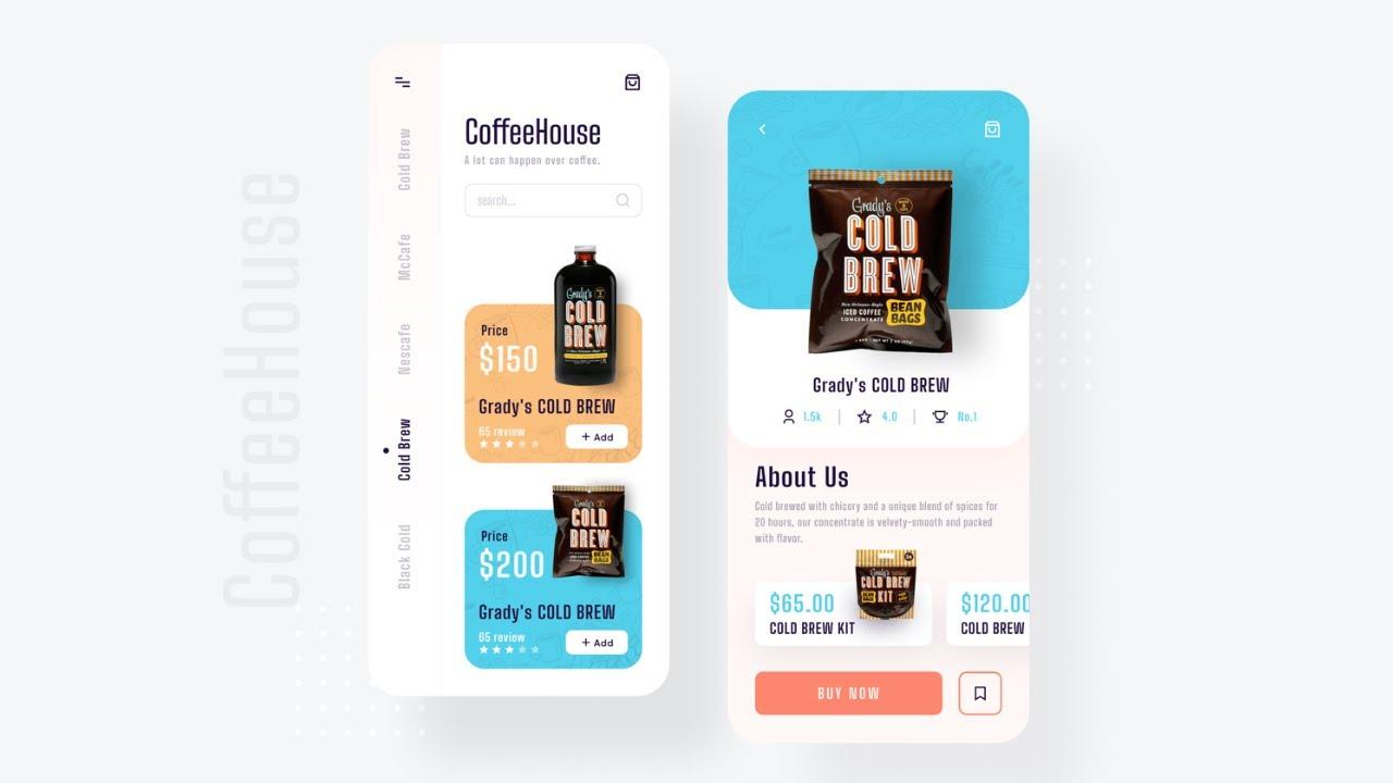 Flutter UI - Apps from scratch - Coffee Shop