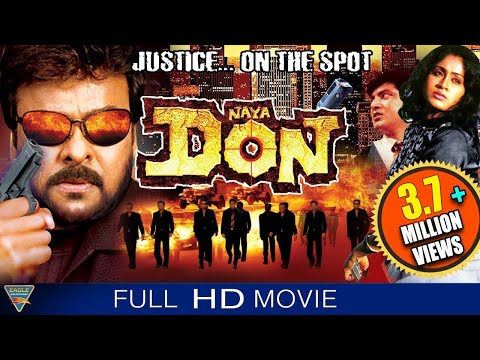 Naya Don (Gang Leader) Hindi Dubbed Full Movie || Chiranjeevi, Vijayashanti || Bollywood Full Movies