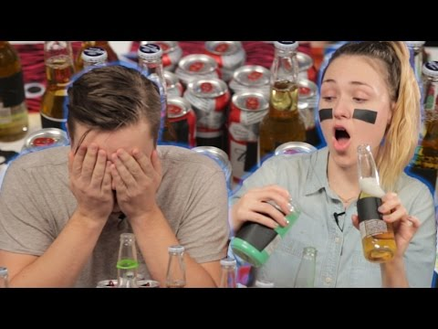 People Compete In The Beer Bowl Challenge