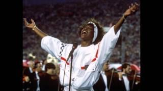 Whitney Houston -Star Spangled Banner (Male Version)