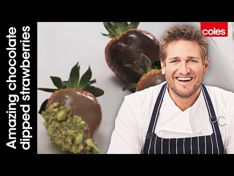 How To Make Amazing Chocolate Dipped Strawberries With Curtis Stone