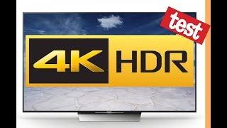Sony Bravia XE8005 HDR test - High dynamic range