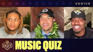 Chase Young, Tua Tagovailoa, Jeff Okudah & More First Round Picks Take The NFL Draft Music Quiz