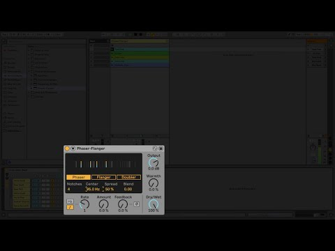 """<span class=""""title"""">Learn Live 11: Phaser-Flanger</span>"""