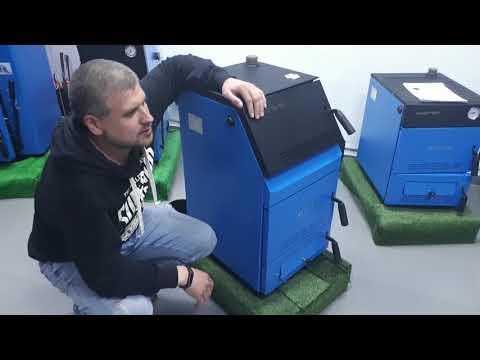 ZOTA Тополь-М. Обзор твердотопливного котла
