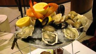 Fruits de mer à la Brasserie Wepler paris