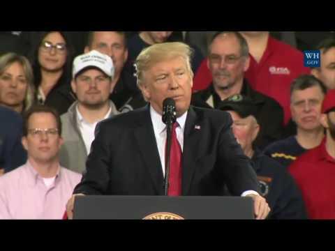 FULL SPEECH  President Donald Trump Speech at the Center For Mobility In Detroit, Michigan 3 15 2017