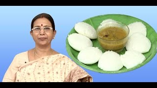 Idli – soft | Mallika Badrinath | Indian food recipes