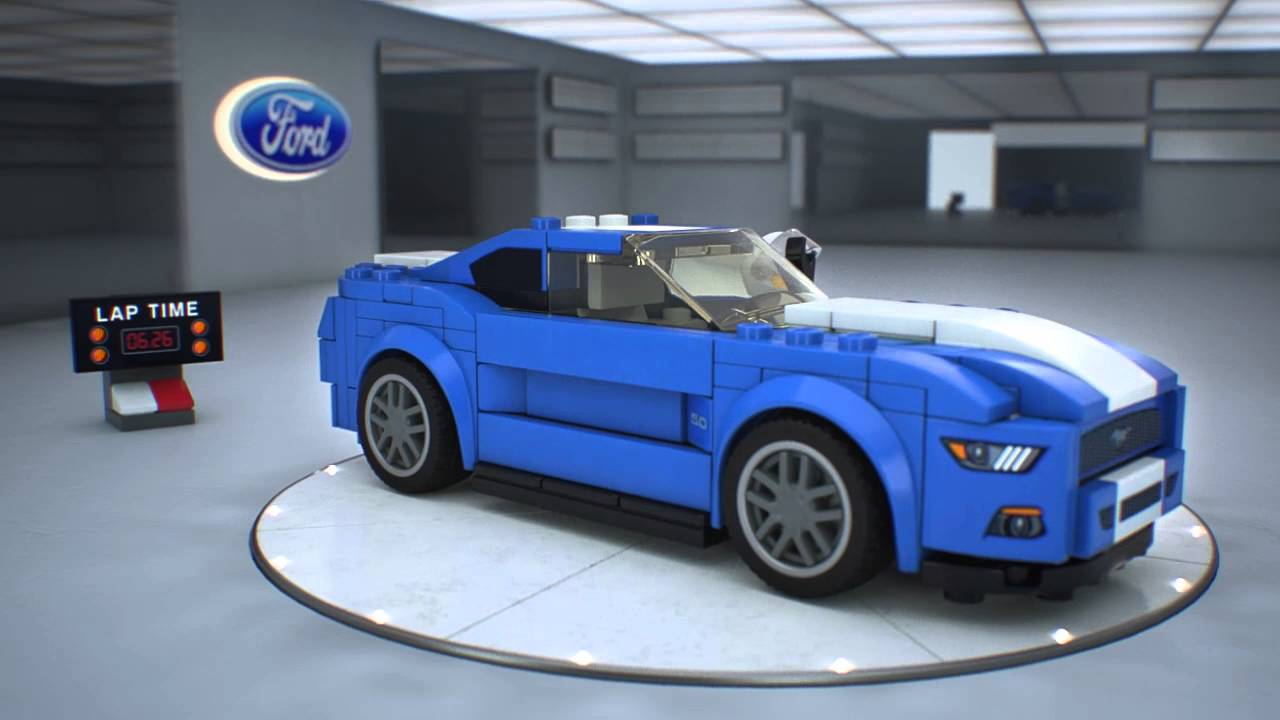 75871 ford mustang gt lego speed champions youtube. Black Bedroom Furniture Sets. Home Design Ideas