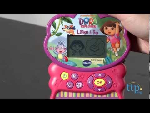 DORA THE EXPLORER Vtech Handheld Learn & Go Learning Game ...