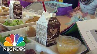 Schools Offer Relief During Coronavirus Shutdown | NBC Nightly News