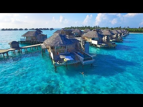 Malediven (Maldives) 💙 Six Senses Laamu 💦🌴🐠🌺 Drohnen-Aufnahmen (Drone Shots) 💙