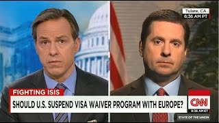 Nunes discusses terror threats on CNN State of the Union