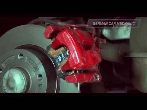 Ролик   RENAULT MEGANE 3   ( Замена задних тормозных колодок и дисков ) How to Replace Disc Brakes.
