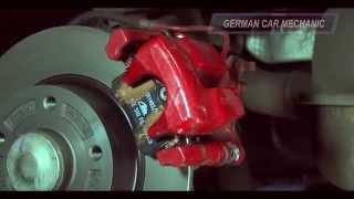 [ # RENAULT MEGANE 3 # ] ( Замена задних тормозных колодок и дисков ) How to Replace Disc Brakes.